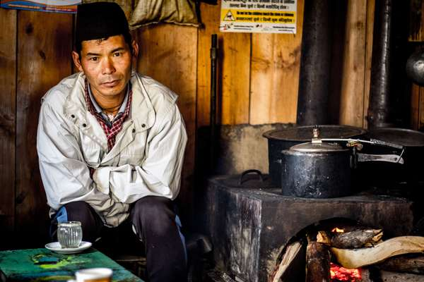 A tea lodge owner, Nepal