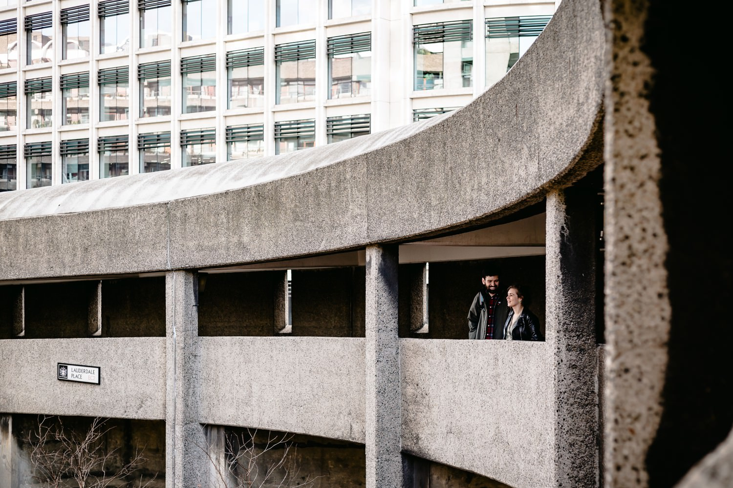 Barbican Engagement Shoot: Heather & David