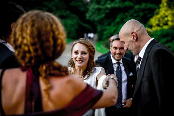 Documentary and reportage wedding photographer