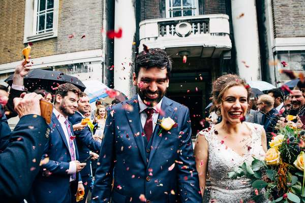 Relaxed Wedding Photography North London